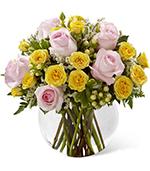 The Soft Serenade Rose Bouquet